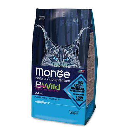 Monge BWild Low Grain Adult Arringa - 1,5kg