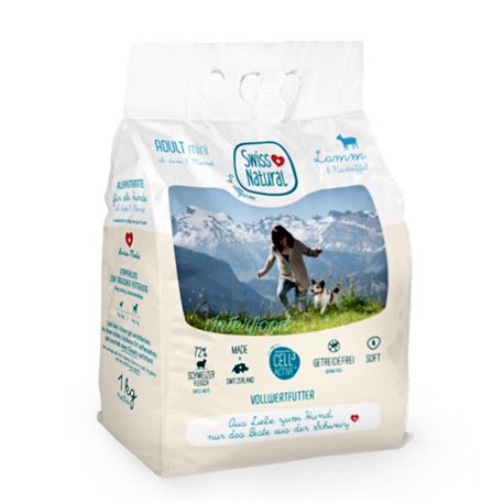 Swiss Natural Soft ADULT mini Lamm & Kartoffel - 1kg