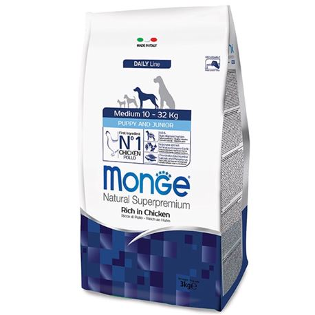 Monge DL Puppy & Junior Medium 12kg