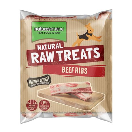 Natures Menu Raw Beef Ribs