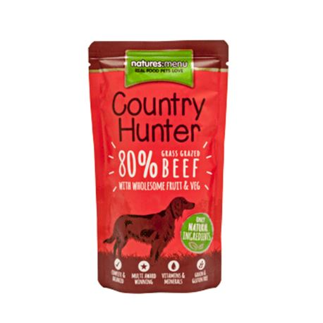 Natures:menu Country Hunter Beef - 6 x 150gr 2