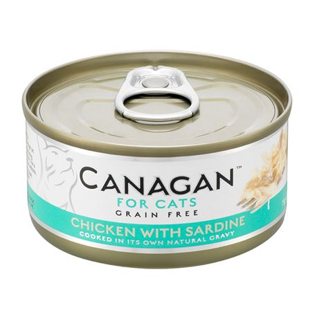 CANAGAN Chicken With Sardine  12x75g