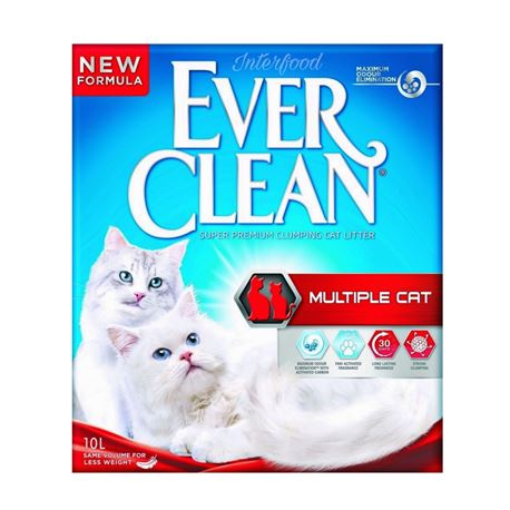 EVERCLEAN MULTIPLE CAT - LETTIERA per GATTI - 10lt