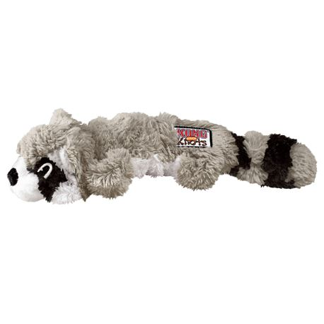 KONG® Scrunch Knots Racoon - M