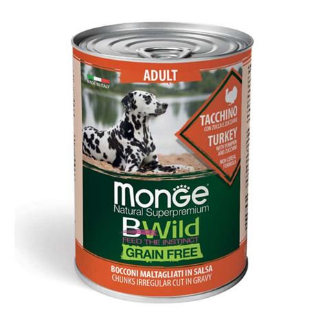 Monge B-Wild Grain Free All Breed Puppy&Junior Anatra con Patate - 12kg 2