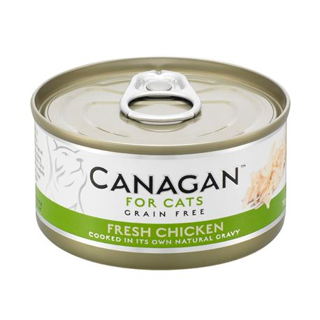 CANAGAN Fresh Chicken  12x75g