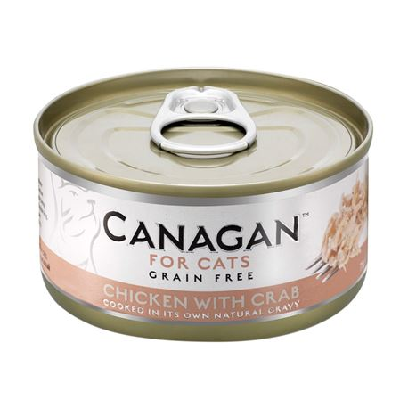 CANAGAN Chicken With Crab  12x75g