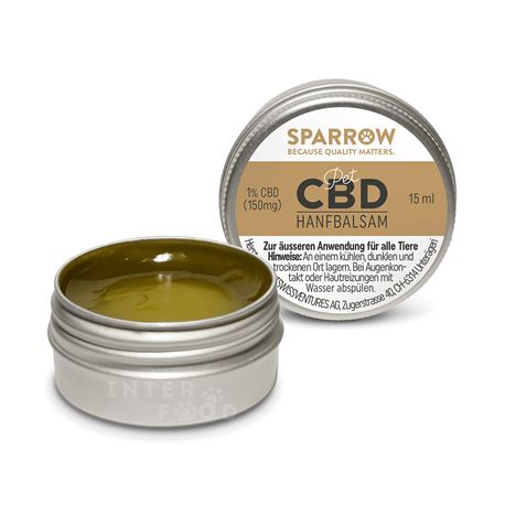 SPARROW Pet - balsamo di canapa con CBC - 15ml