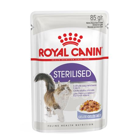 ROYAL CANIN STERILISED JELLY - 12 x 85g