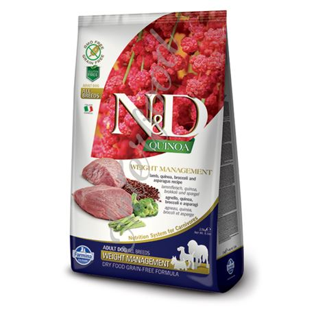 FARMINA N&D QUINOA - WEIGHT MANAGEMENT LAMB - 2,5kg