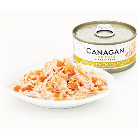 CANAGAN Chicken With Vegetable  12x75g 2