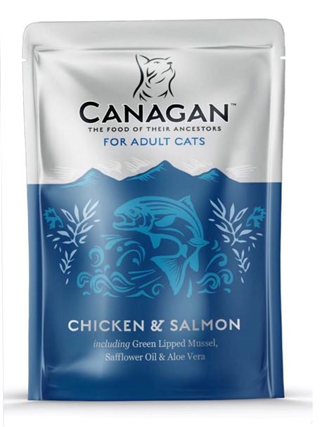 CANAGAN Chicken & Salmon 8x85g