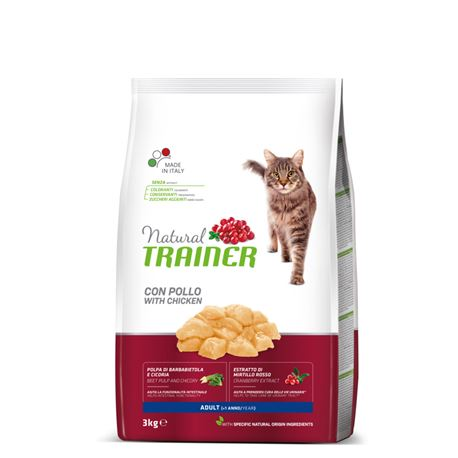 Natural TRAINER Adult con Pollo - 3kg 1