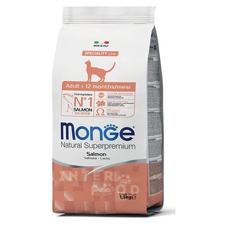 Monge Natural Superpremium Daily Line Adult Salmone - 1,5kg