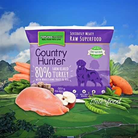 Natures:menu Country Hunter Turkey 1kg