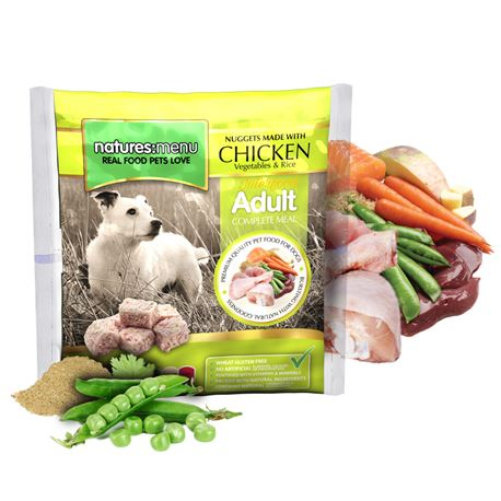 Natures Menu Original Raw Nuggets Chicken 1kg 1