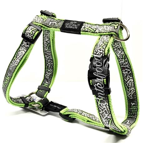 Rogz Harness Beach Bum Lime Bone L