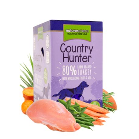 Natures:menu Country Hunter Turkey - 6 x 150gr