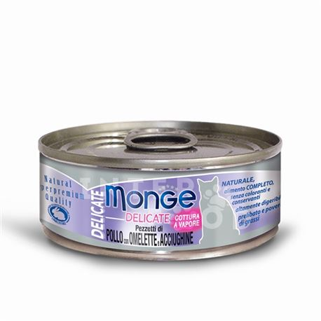 Monge Natural Superpremium Daily Line Sterilised ricco di pollo - 400g 2