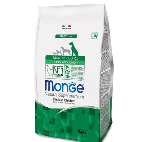 Monge DL Puppy & Junior Maxi 3kg