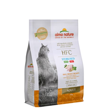 Almo Nature HFC Adult Sterilised - Pollo Fresco - 300g