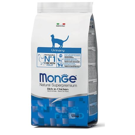 Monge Natural Superpremium Daily Line Urinary ricco di pollo - 1,5kg