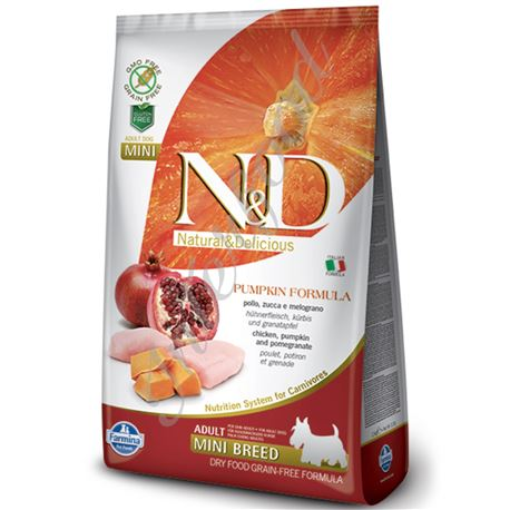 FARMINA N&D PUMPKIN - CHICKEN AND POMEGRANATE ADULT Medium & Maxi - 2,5kg 1