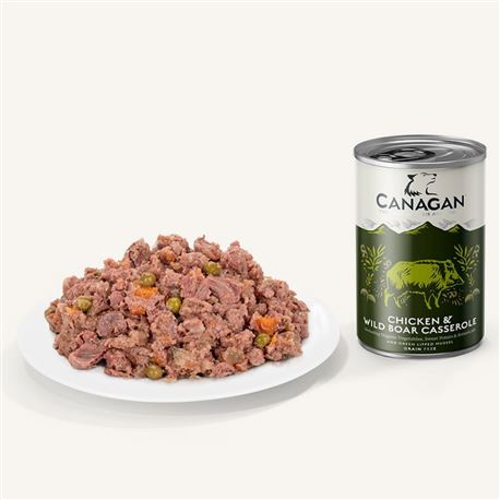CANAGAN Chicken & Wild Boar 400g 2