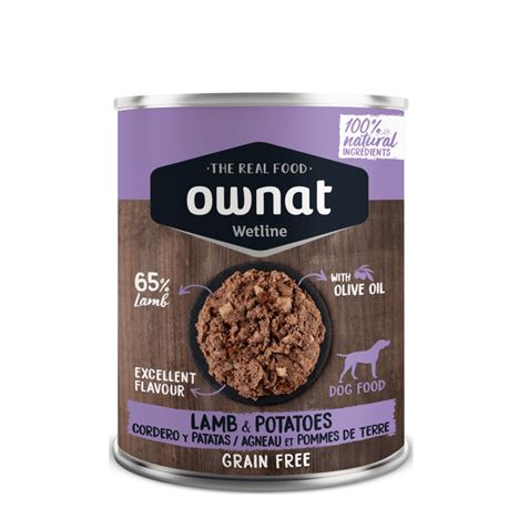 OWNAT Grain Free Just Adult Lamb - 3kg 3