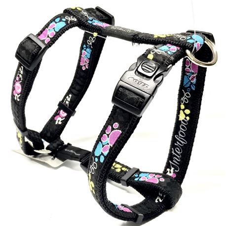 Rogz Harness Armed Response Neon Chrome XL