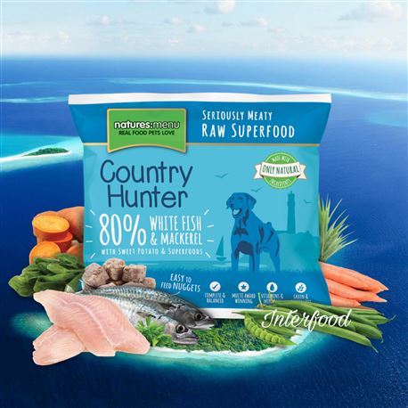 Natures:menu Country Hunter  White Fish & Mackerel 1kg