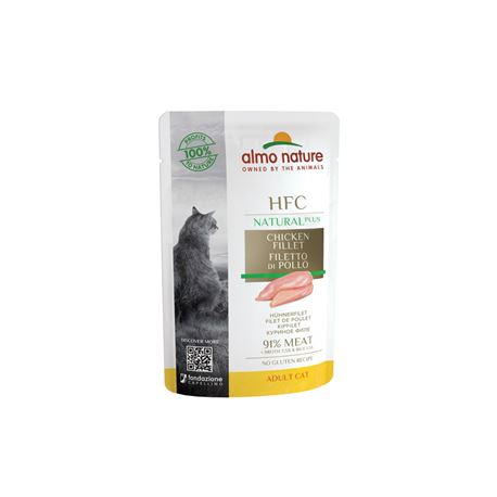 Almo Nature HFC Natural Plus - Filetto di Pollo - 55g 1