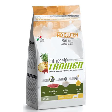 TRAINER Fitness 3 - Mini Adult - Anatra - 7,5kg
