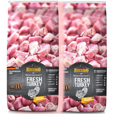 BELCANDO® MASTERCRAFT -  Fresh Turkey - 2 x 10 kg