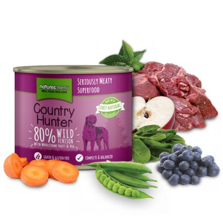 Natures:menu Country Hunter Wild Venison  - 600gr 1
