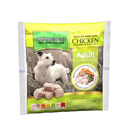 Natures Menu Original Raw Nuggets Chicken 1kg 2