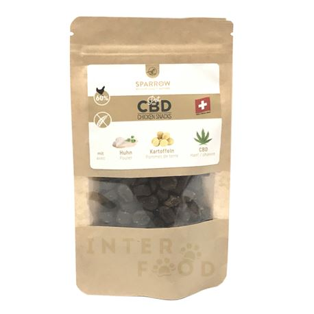 SPARROW Pet CBD - Snack di pollo con CBD
