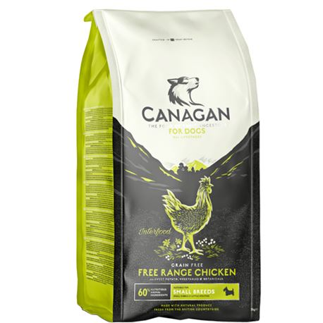CANAGAN Free-Range Chicken Small Breed 2kg