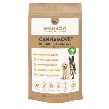 SPARROW Pet CannaMove® - 100g