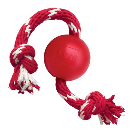 KONG Ball with Rope 1