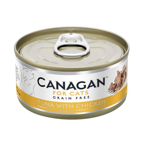 CANAGAN Tuna With Chicken  12x75g
