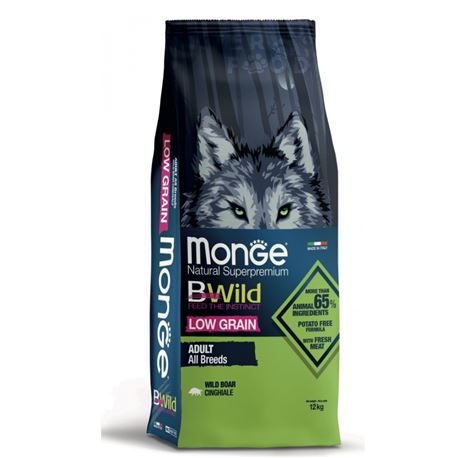 Monge BWild Adult All Breds Cinghiale - 12kg