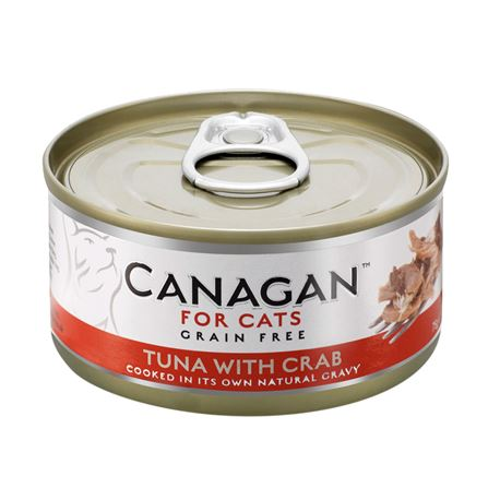 CANAGAN Tuna With Crab  12x75g