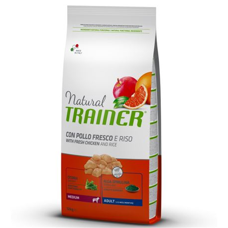 Natural TRAINER Adult Medium Pollo - 12kg