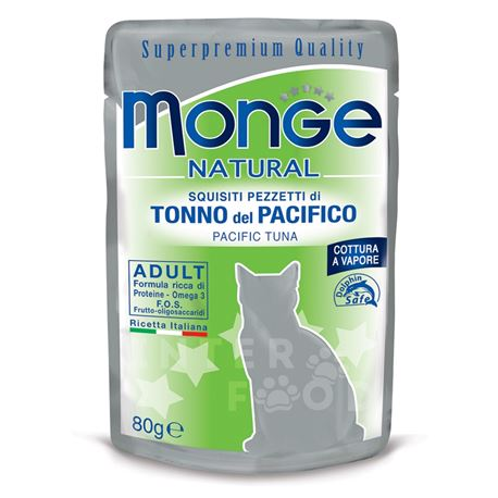 Monge Natural - Tonno del pacifico - 80g