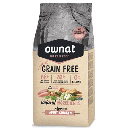OWNAT Grain Free Just Adult Chicken - 3kg