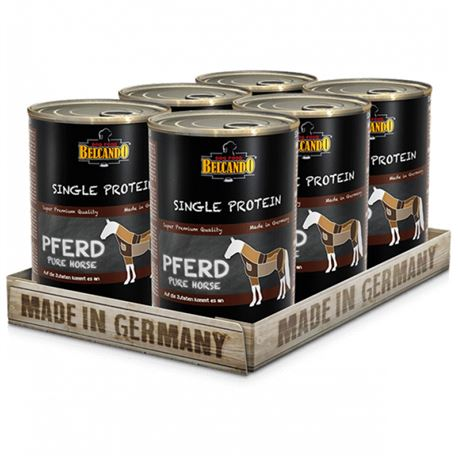 BELCANDO Single Protein - Pferd - 6 x 400g 1