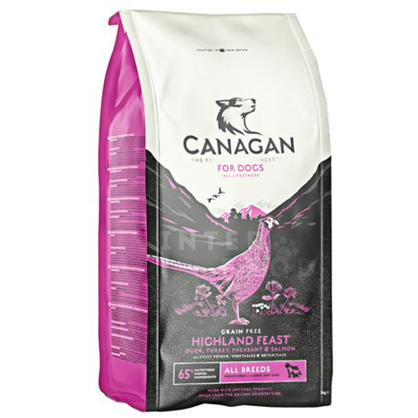 CANAGAN HIGHAND FEAST -  12kg