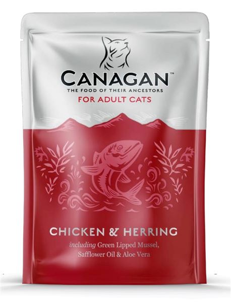 CANAGAN Chicken & Herring 8x85g