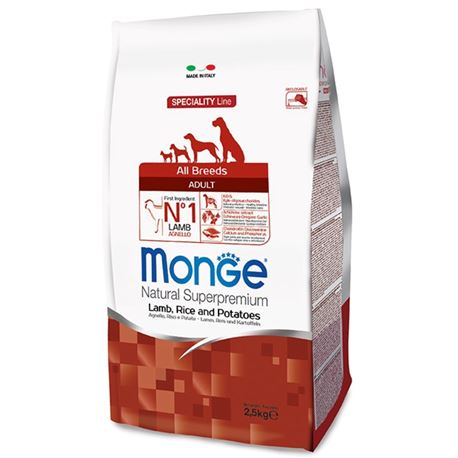 Monge SL Mini Puppy & Junior Agnello e Riso 800g
